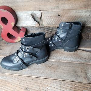 G By Guess Moto Boots Black